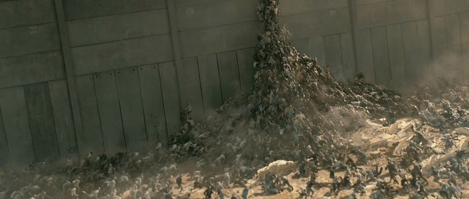 WORLD WAR Z wall