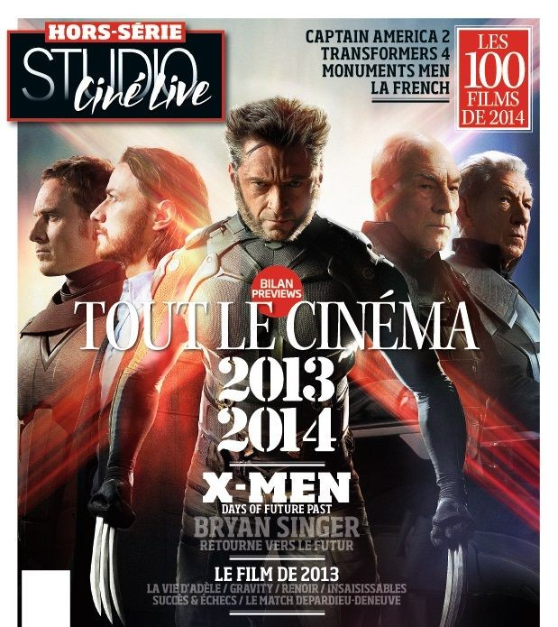 X-MEN: DAYS OF FUTURE PAST mag cover