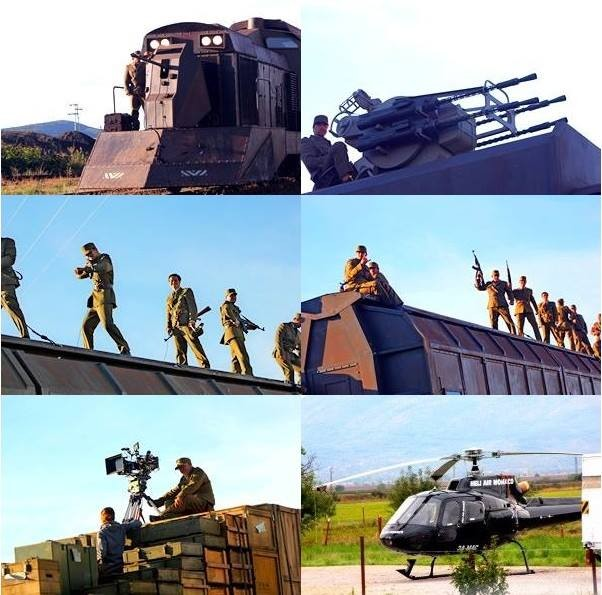 EXPENDABLES 3 train