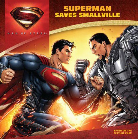 MAN OF STEEL book vover