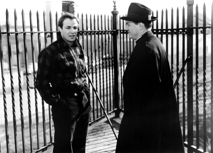 ON THE WATERFRONT Karl Malden 