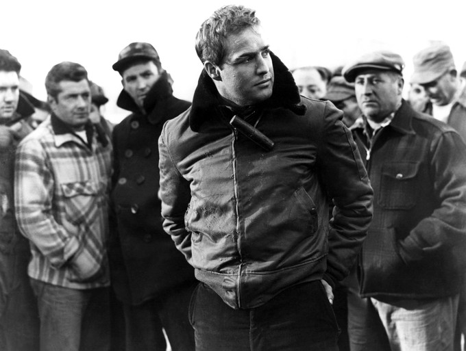 ON THE WATERFRONT Brando