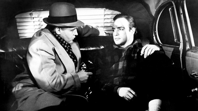 ON THE WATERFRONT cab scene 