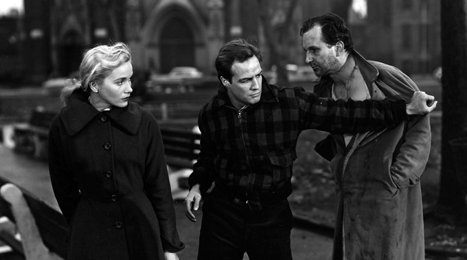 ON THE WATERFRONT glove scene