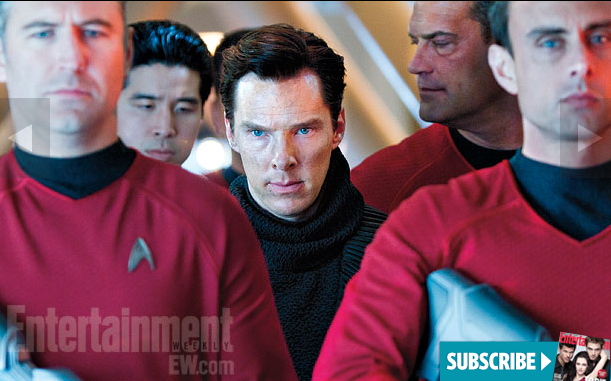 Benedict Cumberbatch as 'John Harrison' in  STAR TREK INTO DARKNESS