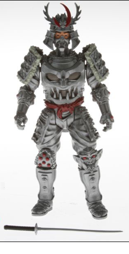 Silver Samurai toy