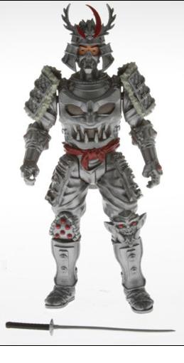 Silver Samurai toy