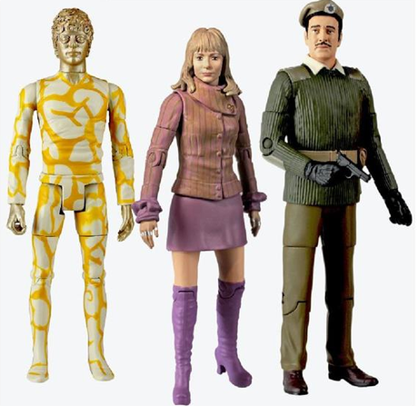 DOCTOR WHO Claws of Axos figure set