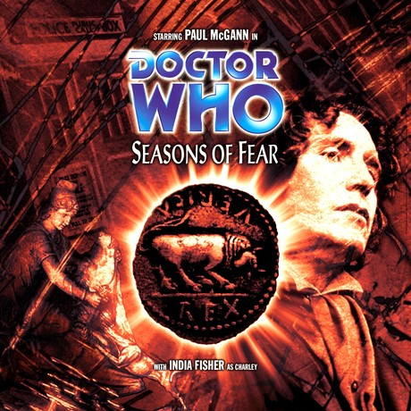DOCTOR WHO: Seasons of Fear CD Audio Cover 