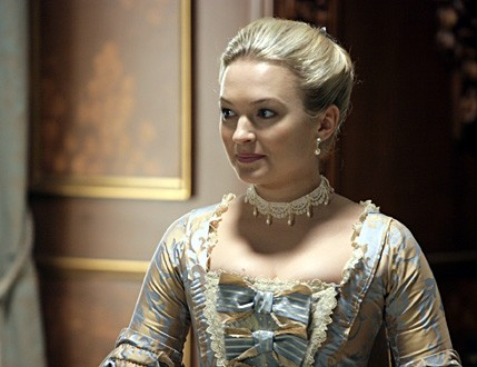 Sophia Myles in DOCTOR WHO: The Girl in the Fireplace