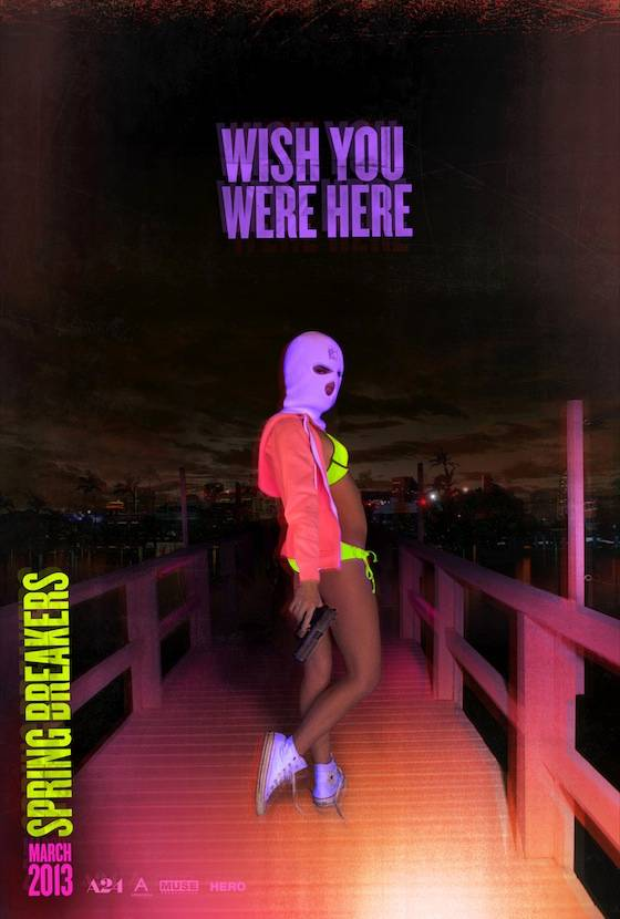 SPRING BREAKERS Teaser One Sheet