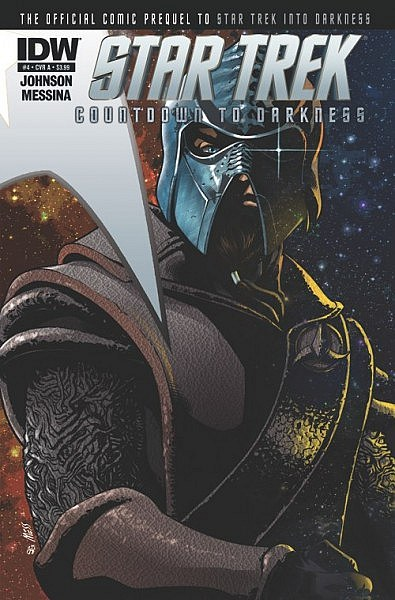 Cover of STAR TREK COUNTDOWN TO DARKNESS Comic