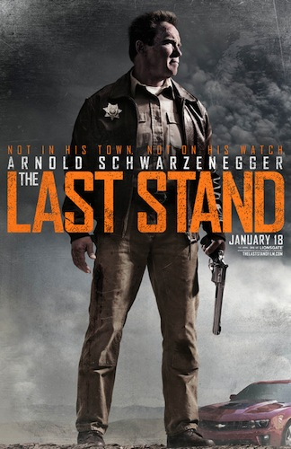 THE LAST STAND Teaser One Sheet