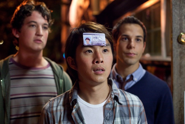 Miles Teller, Justin Chon and Skylar Astin in 21 AND OVER