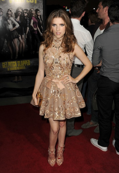 Anna Kendrick at the premiere of PITCH PERFECT