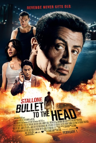 BULLET TO THE HEAD Final Theatrical One Sheet