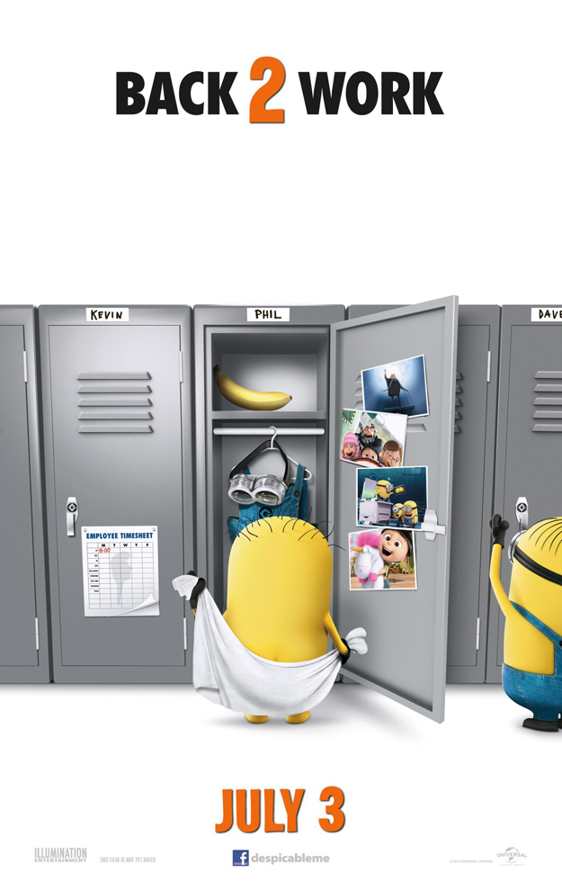 DESPICABLE ME 2 Teaser One Sheet #2