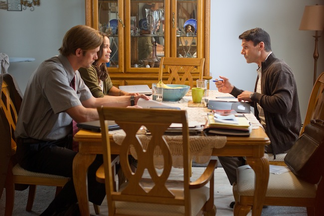 Alexander Skarsgard, Paula Patton and Frank Grillo in DISCONNECT