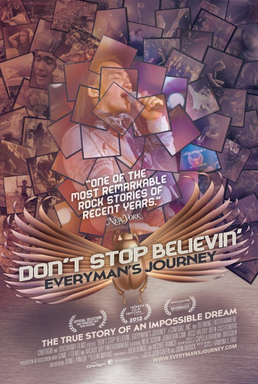 DON'T STOP BELIEVIN': EVERYMAN'S JOURNEY Final Theatrical One Sheet