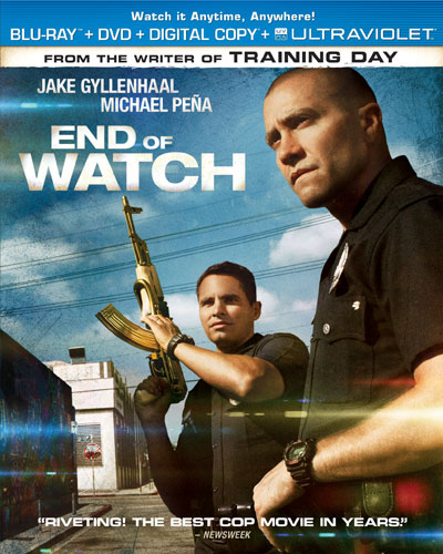 END OF WATCH Blu-ray Combo Pack Box Art