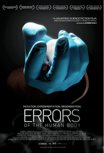 ERRORS OF THE HUMAN BODY Final Theatrical One Sheet