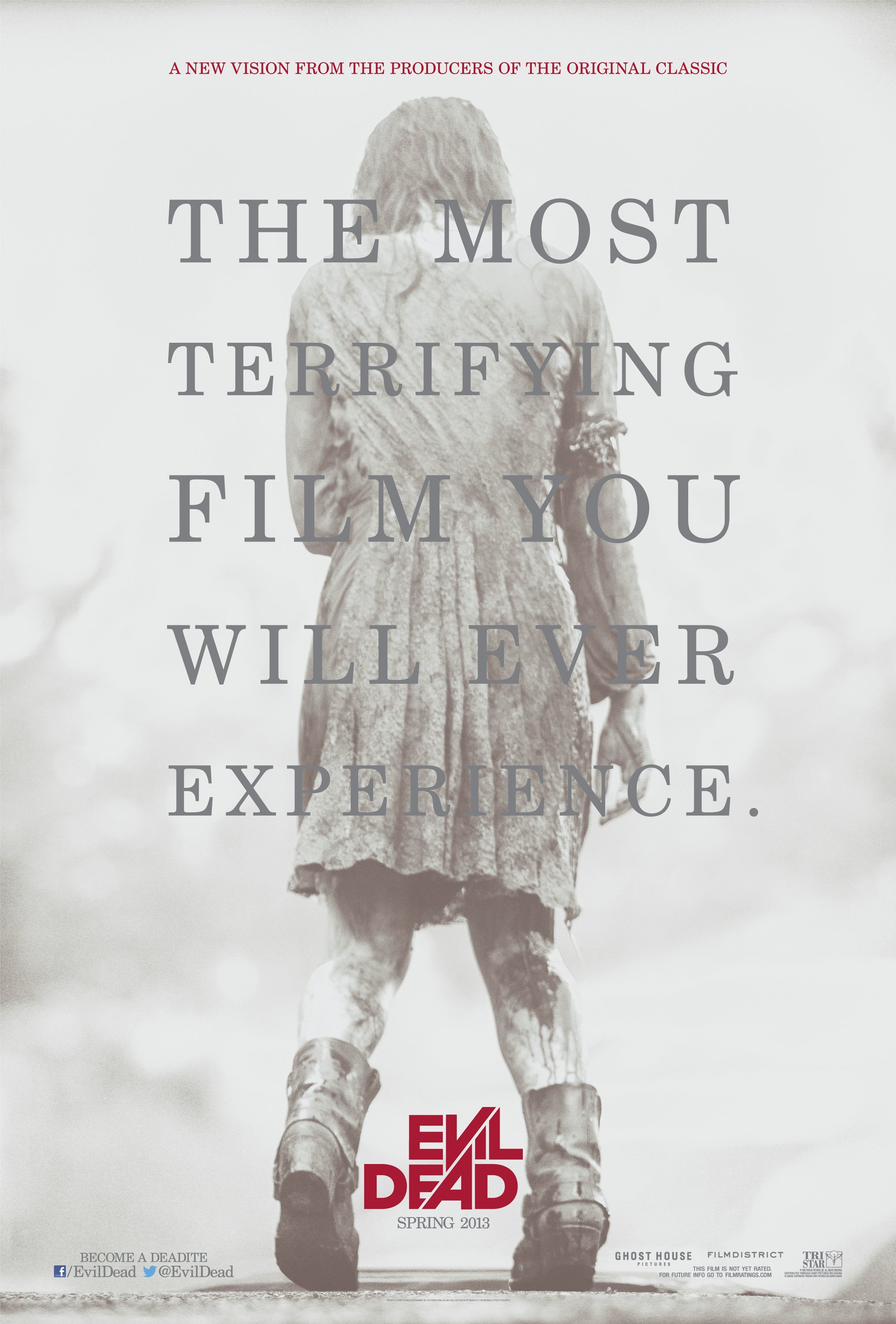 EVIL DEAD Teaser One Sheet