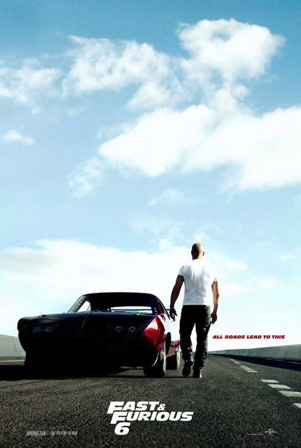 FAST &amp; FURIOUS 6 Teaser One Sheet
