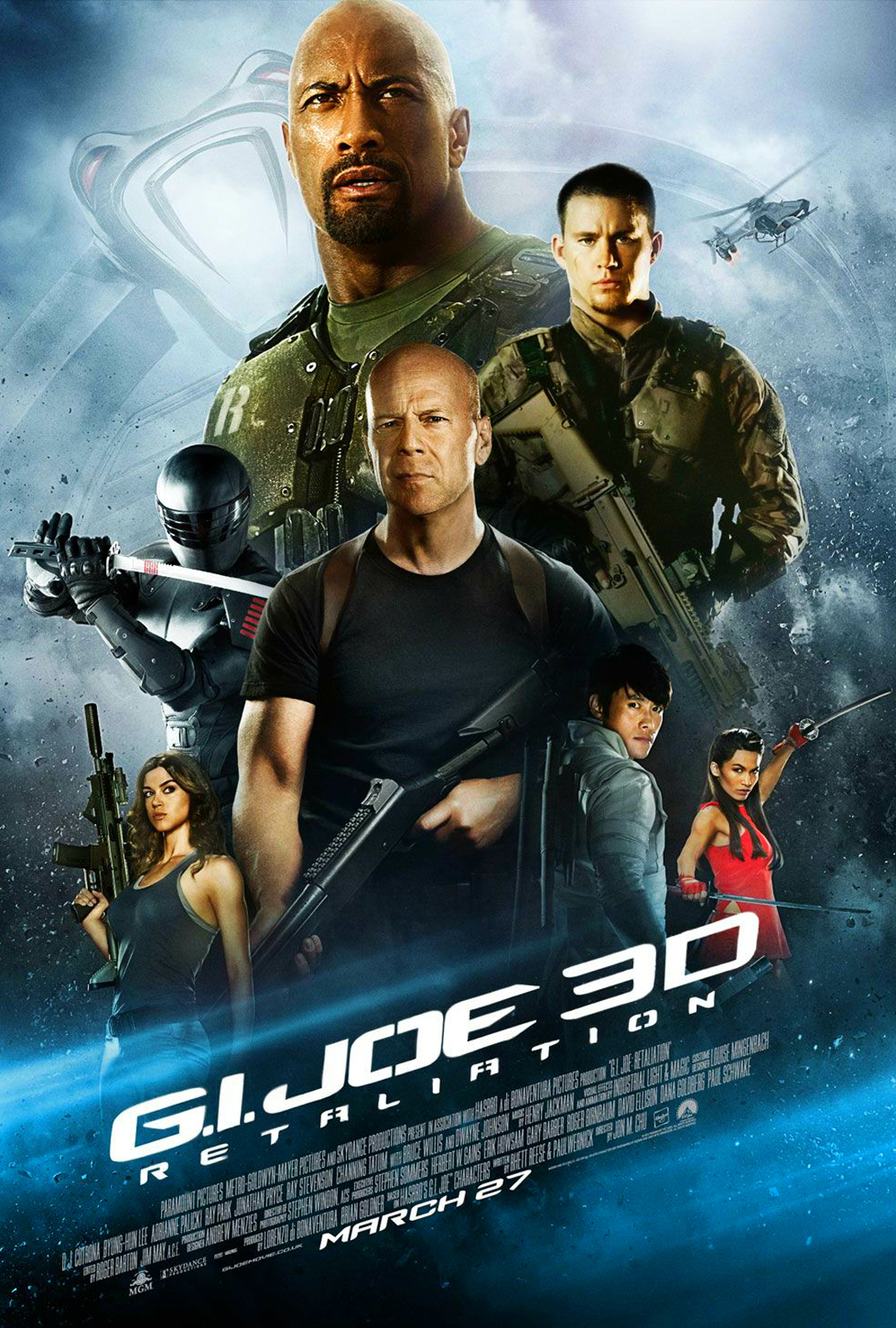 G.I. JOE: RETALIATION Final Theatrical One Sheet