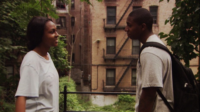 Tashiana Washington and Ty Hickson in GIMME THE LOOT