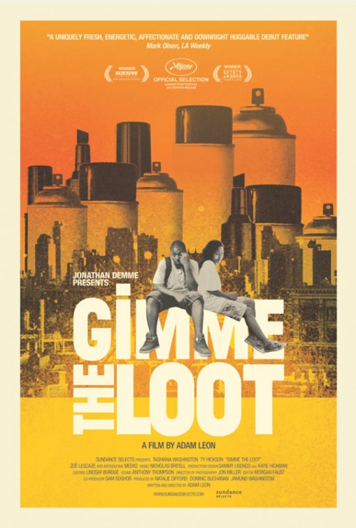 GIMME THE LOOT Final Theatrical Poster