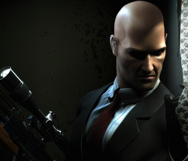Agent 47 in the HITMAN video game franchise