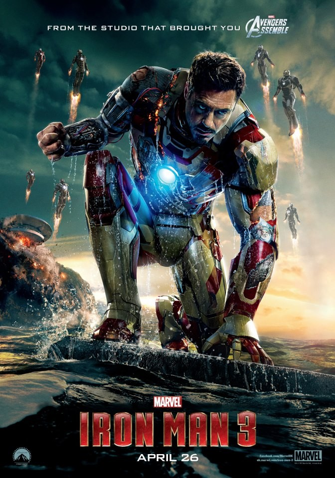 IRON MAN 3 international poster