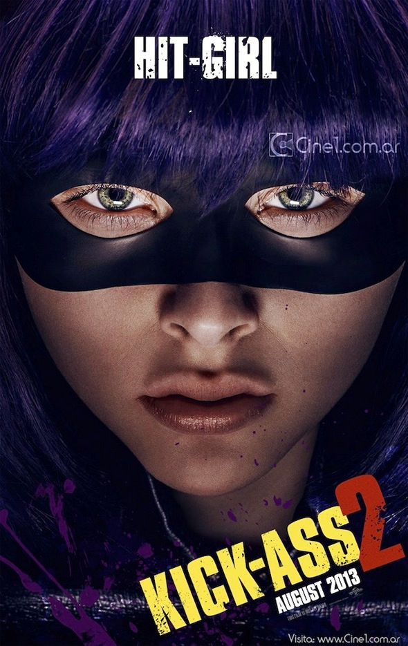 Hit-Girl International Character One Sheet - KICK-ASS 2