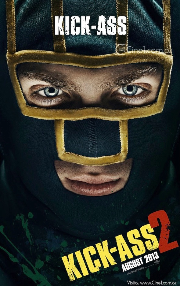 Kick-Ass International Character One Sheet - KICK-ASS 2
