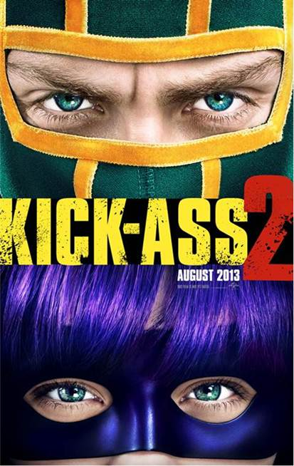 KICK-ASS 2 Teaser One Sheet