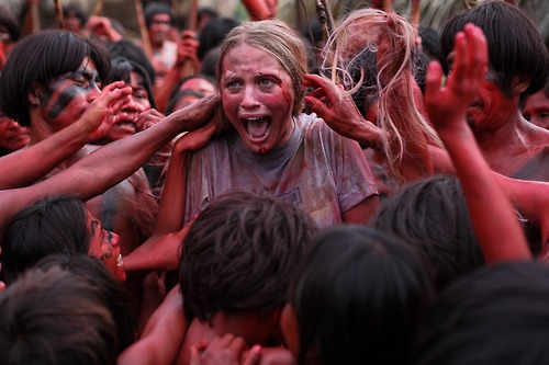 Kirby Bliss Blanton in Eli Roth's THE GREEN INFERNO