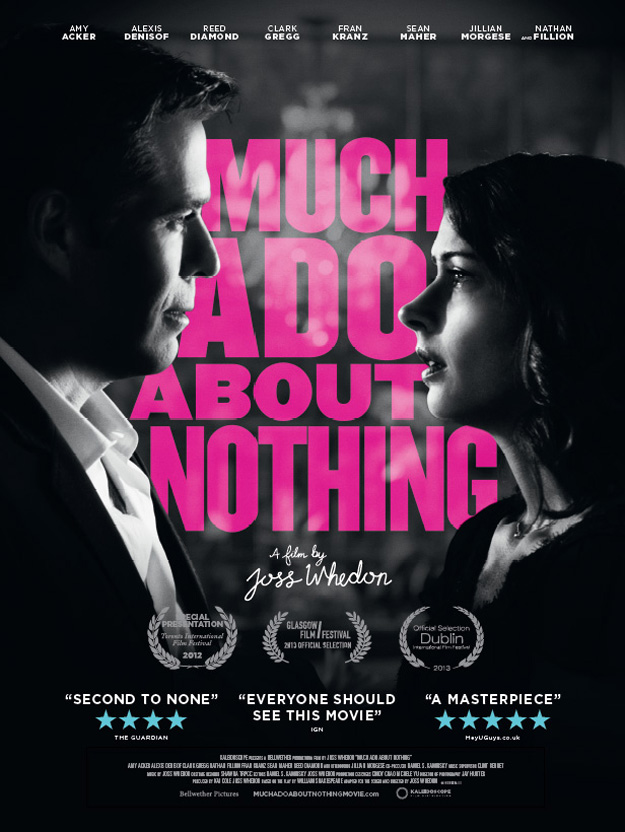 a review of the movie much ado about nothing a shakespearean farce When in 1990 kenneth branagh's luminous film version of shakespeare's  now , with this summer's much ado about nothing, he is said to have triumphed again   that he reviewed the movie twice for the new republic, in notices filled with  gush  as a joke, don pedro decides to reconcile the two combatants by fooling .
