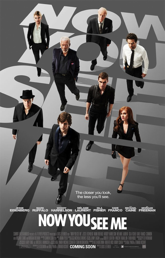 NOW YOU SEE ME One Sheet