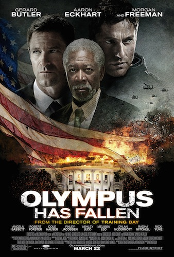 OLYMPUS HAS FALLEN Final Theatrical Poster