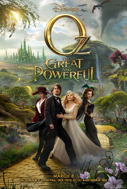 OZ THE GREAT AND POWERFUL Final Theatrical One Sheet