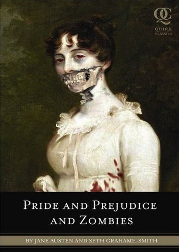 PRIDE & PREJUDICE & ZOMBIES Book Cover