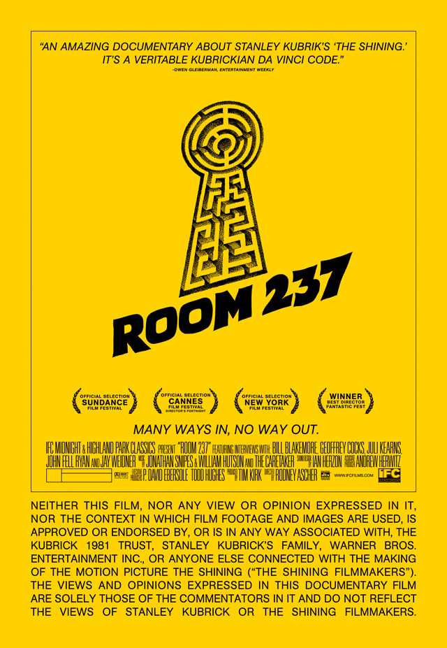 ROOM 237 Final Theatrical One Sheet