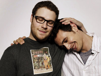 Seth Rogen and James Franco