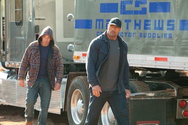 "Dwayne ""The Rock"" Johnson and Jon Bernthal in SNITCH"