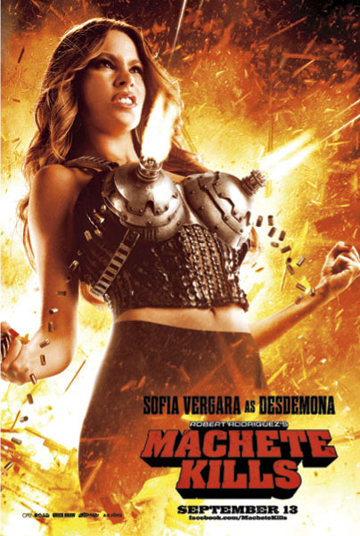 Sofia Vergara as Desdemona in MACHETE KILLS Character Poster