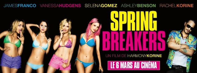 International Character Banner for SPRING BREAKERS