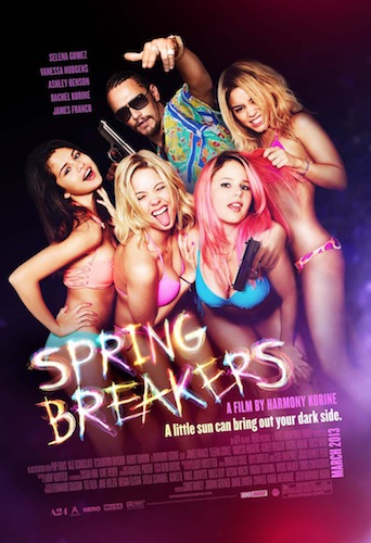 SPRING BREAKERS Final Theatrical One Sheet