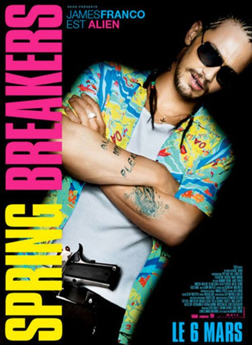 James Franco International Character Poster for SPRING BREAKERS