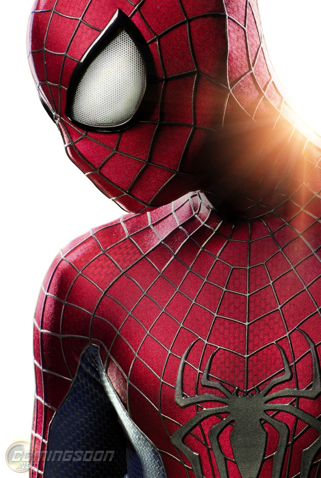 New Spider-Man Suit from THE AMAZING SPIDER-MAN 2