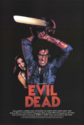 THE EVIL DEAD Alternate One Sheet